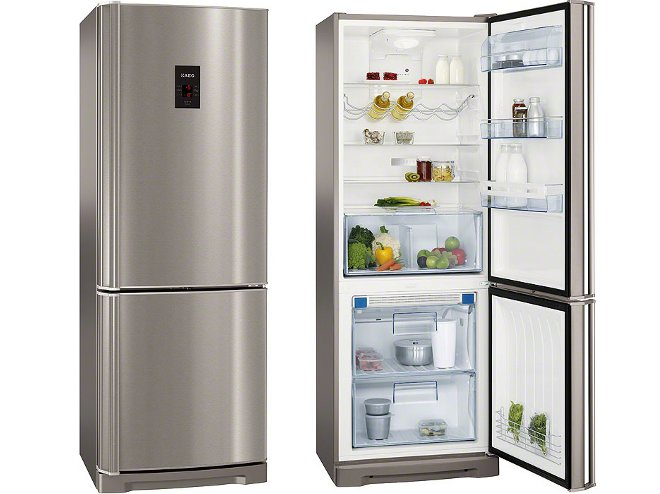 jaką lodówkę kupić: lodówka z zamrażarką na dole