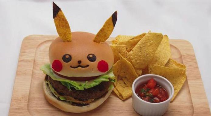 Pokemon w restauracji