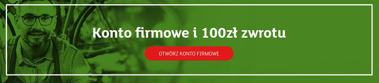 mbank 100 zł promocja