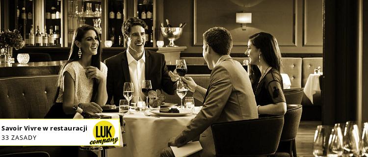 jak zachowywać się w restauracji