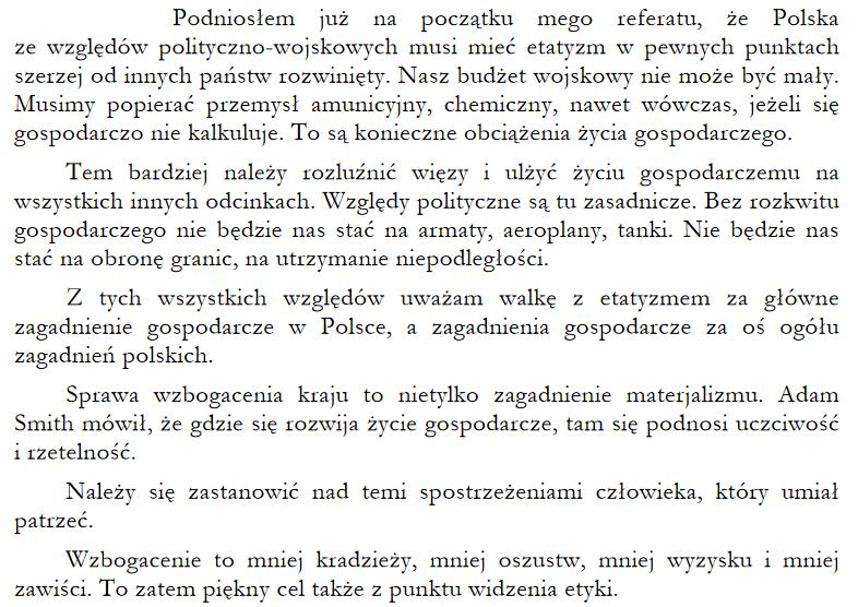 adam heydel etatyzm po Polsku