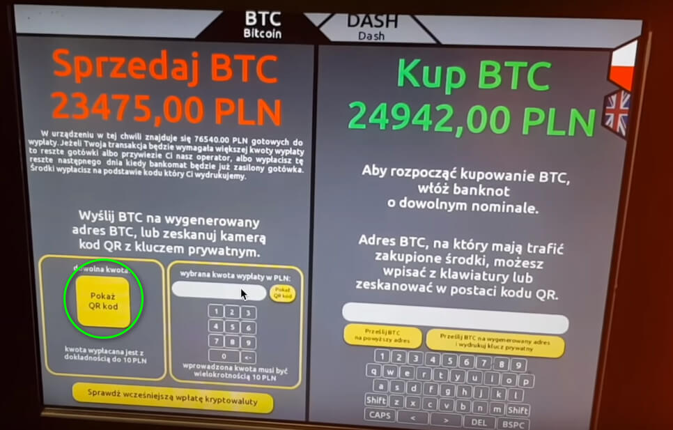 Bitomat, czyli bankomat Bitcoina