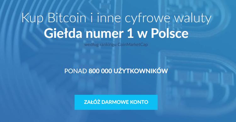 Inwestycja w Bitcoin zaczyna się od giełdy