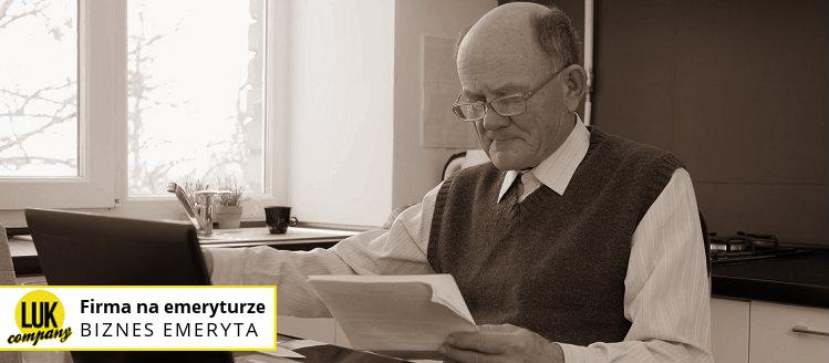 firma na emeryturze