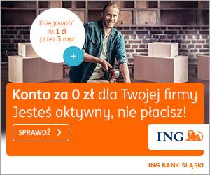 ing bank konto dla firmy