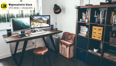 wyposażenie biura