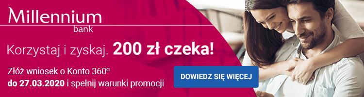 bank millenium promocja bankowa