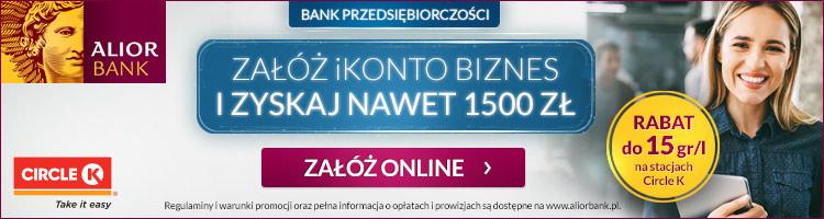konto firmowe alior bank premia
