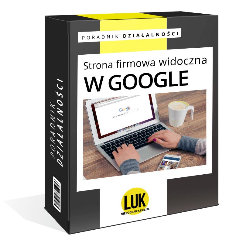 strona firmowa widoczna w google